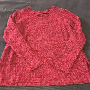 Red sweater!